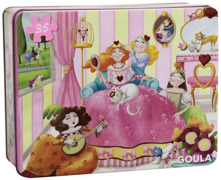 Puzzle princesa con 35 piezas de Goula