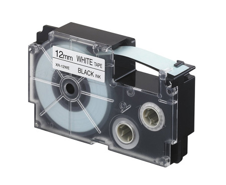 Cinta etiquetadora de 12 mm de Casio