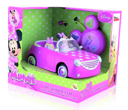 Coche Radiocontrol De Minnie Mouse Brico Reyes