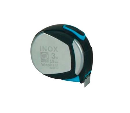 Flexómetro protector INOX, 3 m x 19 mm de Medid 43195B