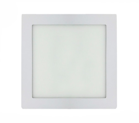 Downlight LED cuadrado blanco 18W de la serie Anubis de Led Ecoplus 1