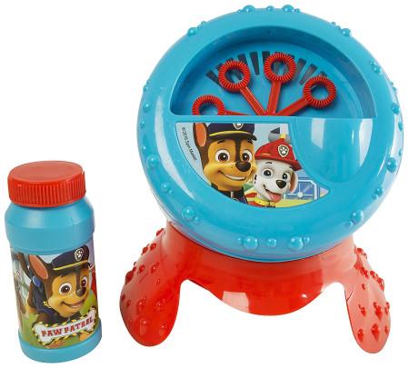 Máquina para crear burbujas de Patrulla Canina