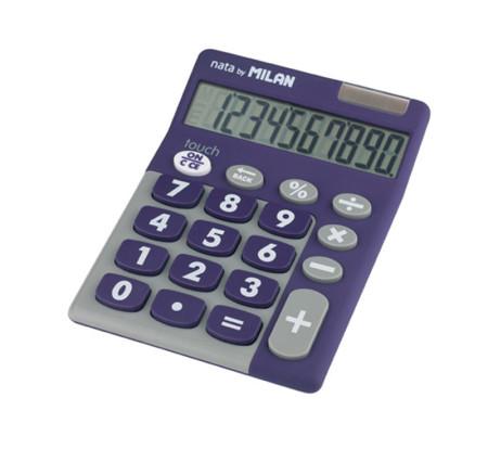 Calculadora electrónica 10 dígitos de Milan