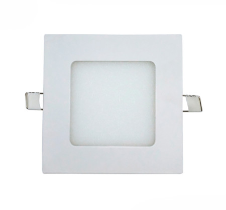 Downlight LED cuadrado blanco de 5W de Led Ecoplus