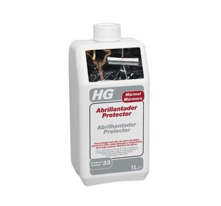 Abrillantador para mármol de HG