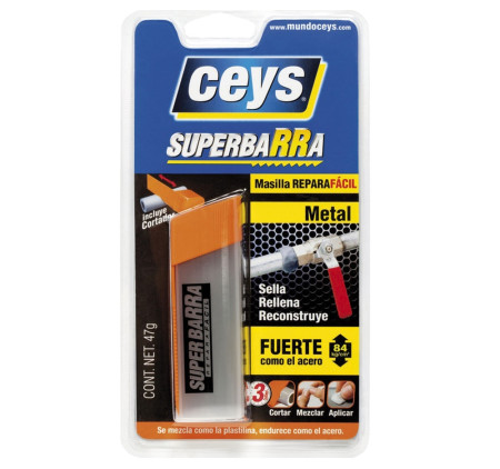 Superbarra reparadora metal de Ceys