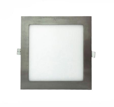 Downlight LED níquel 12 W de la serie Apolo de Led Ecoplus