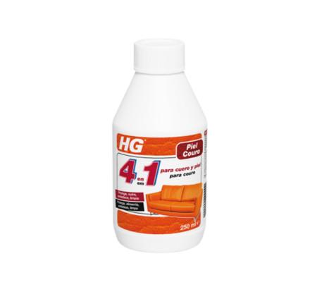 Limpiador profesional para cuero y piel 4 en 1 de HG