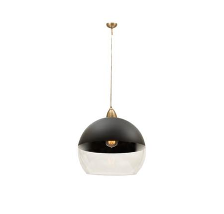 Lámpara colgante de la serie Altamira de color marrón de Fabrilamp