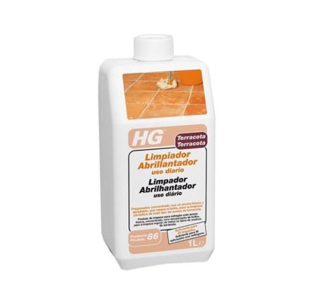 Limpiador y abrillantador terracota de productos HG