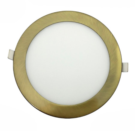 Downlight LED redondo de color cuero de la serie Horus de Led Ecoplus