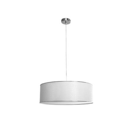 Lámpara colgante de la serie Quebec, color blanco, de Fabrilamp