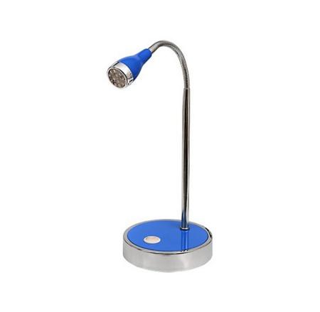 Flexo LED serie Galena, azul, de DLS Diamond