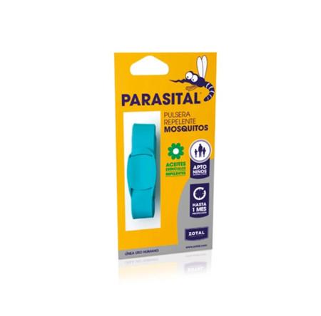 Pulsera antimosquitos, con aceites esenciales, 1 mes, diferentes colores, Parasital