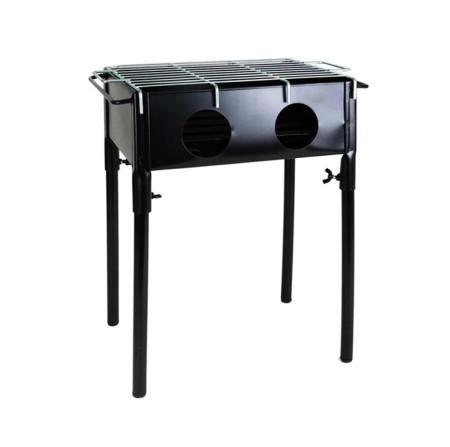 Barbacoa mini hierro pintado de 32x23 cm, modelo 3490230