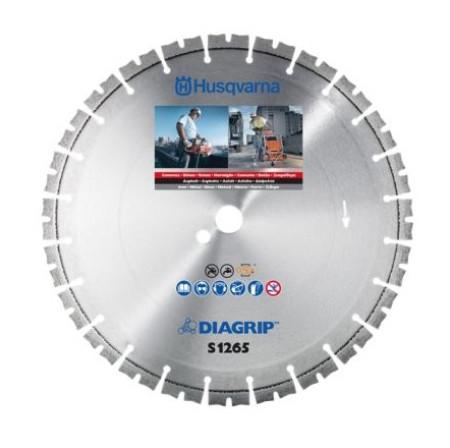 Disco de diamante para hormigón, hierro y asfalto, Ø300, Husqvarna S1265