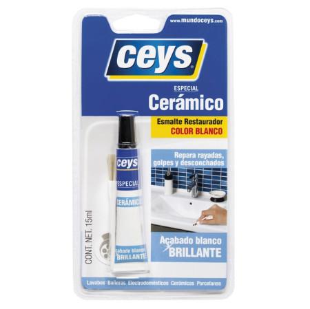 Restaurador cerámico color blanco de Ceys
