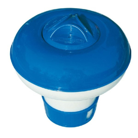 Clorador flotante pequeño para piscinas de Neptunio