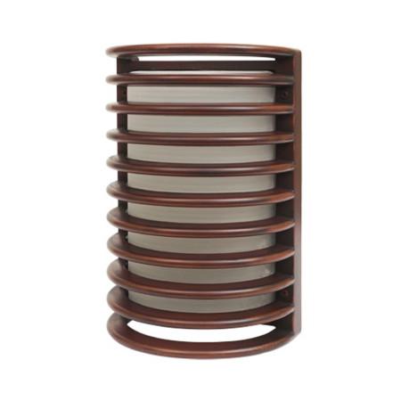 Aplique serie Mirto de color marrón de Fabrilamp
