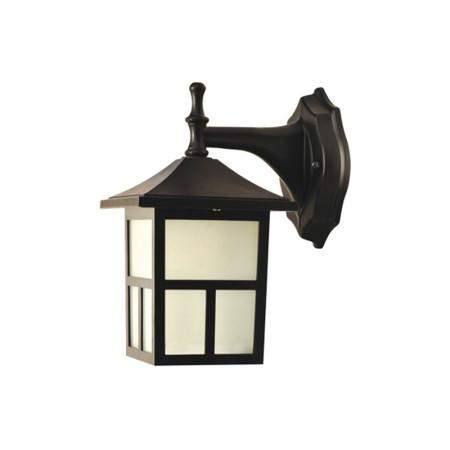 Aplique LED de la serie Sara de color negro de Fabrilamp