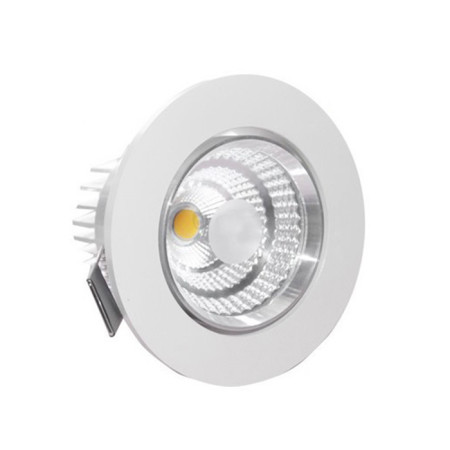 Aro empotrable basculante LED de 5W, color blanco, de GSC Evolution