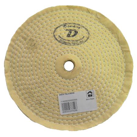 Disco de pulido de tela de diámetro de 200 mm.