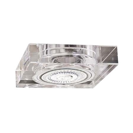Empotrable cuadrado de cristal, serie Landa, de Fabrilamp