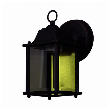 Aplique exterior negro serie Versus de Fabrilamp