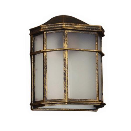 Aplique exterior serie Cuntis de color oro de Fabrilamp