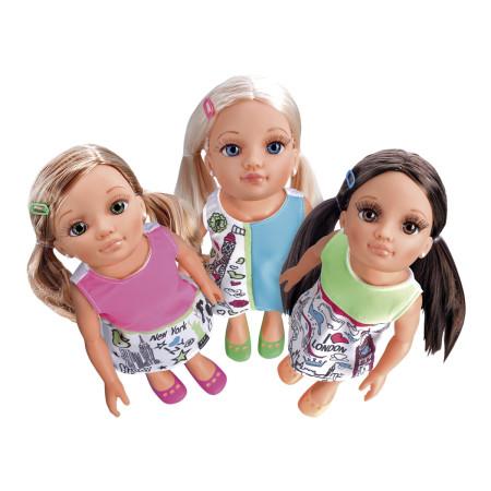 Nancy Un Día En La Ciudad Tres Modelos Diferentes Famosa 700014108 Brico Reyes