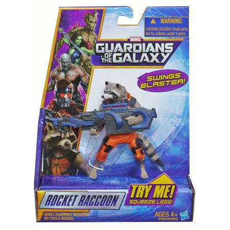 Figura Rocket Raccoon de Guardianes de la Galaxia