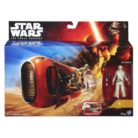 Vehículo Speeder con figura Rey de Star Wars, Hasbro