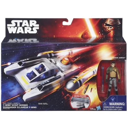 Vehículo Y-Wing de Star Wars de Hasbro