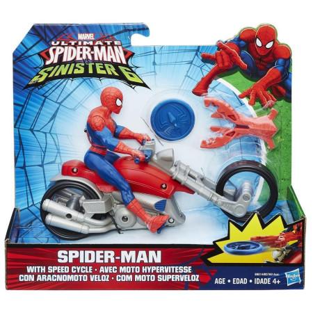 Figuras con bolido de Spiderman, varios modelos, Hasbro B576040