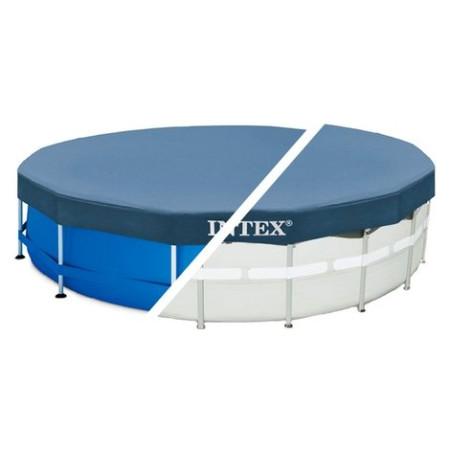 Cobertor piscina redondo, Easy Set 366 cm, vinilo. Intex 28031
