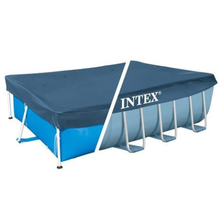 Cobertor piscina rectangular, 300 x 200 cm, vinilo. Intex 28038