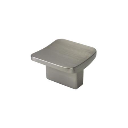 Tirador pomo de mueble acabado cromo mate, 32 x 32 cm, cuadrado, de Nesu