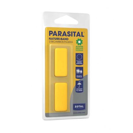 Recambio pastillas para pulseras adultos, 2 uds, Parasital