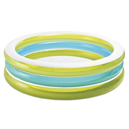 Piscina hinchable con forma circular de Intex