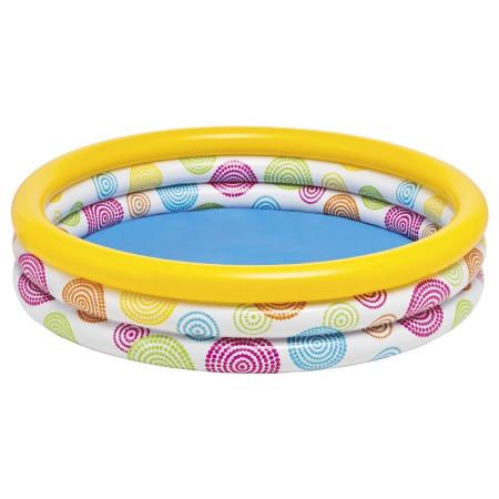 Piscina infantil hinchable de forma circular de Intex