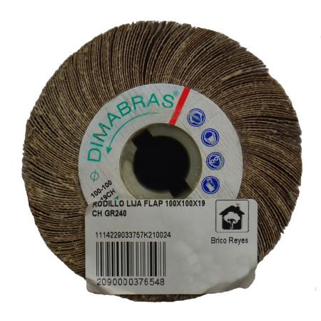 Rodillo de lija FLAP de grano 240
