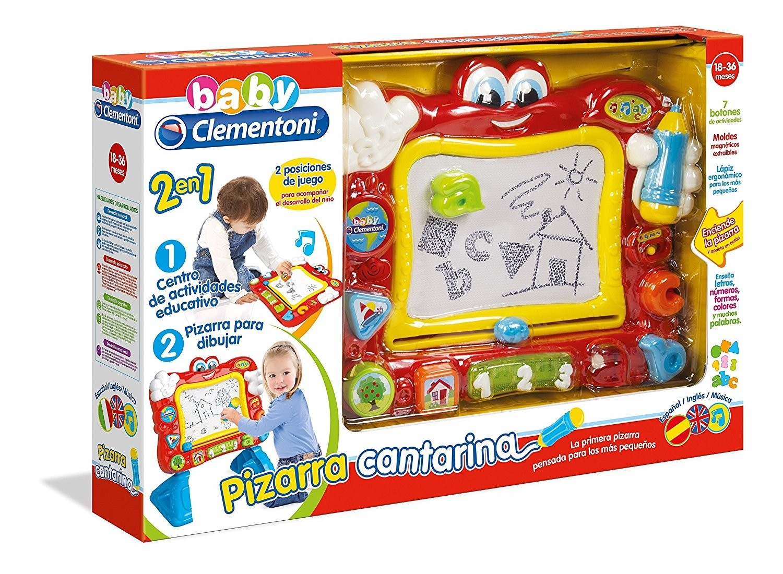 La Pizarra Cantarina Centro De Actividades Clementoni 55131  ~ Pizarras Magneticas El Corte Ingles