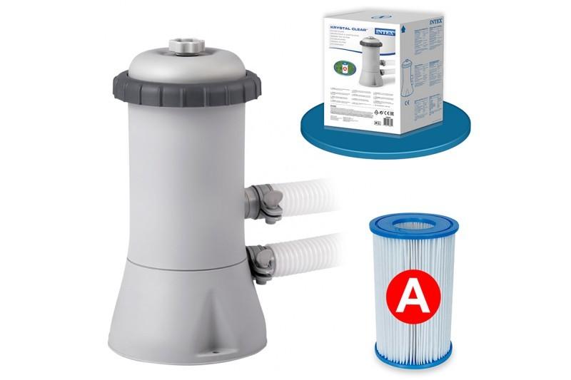 Depuradora de cartucho para piscina 2006 l h filtro tipo for Filtro para piscina intex