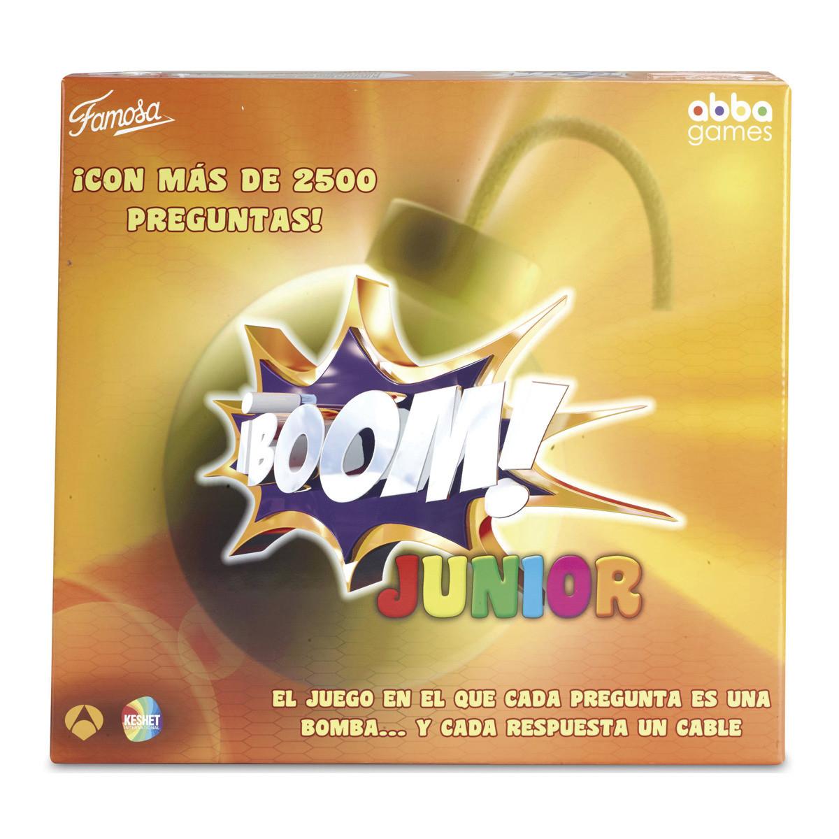 Boom junior juego de mesa del programa de tv brico reyes for Boom junior juego de mesa