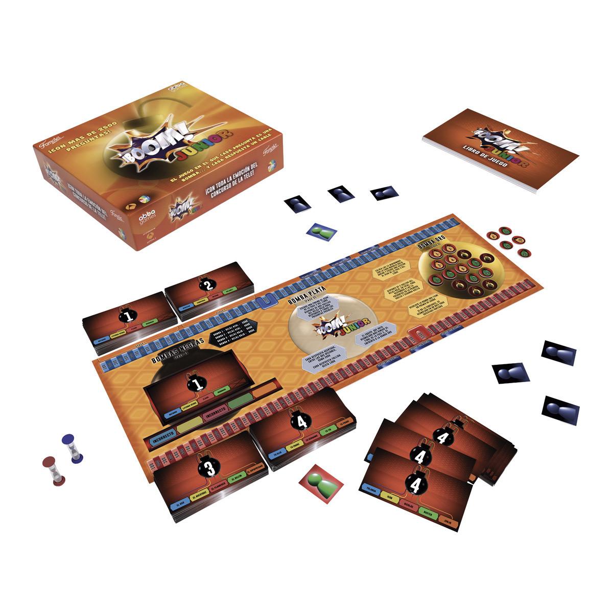 Boom junior juego de mesa del programa de tv brico reyes for Petropolis juego de mesa