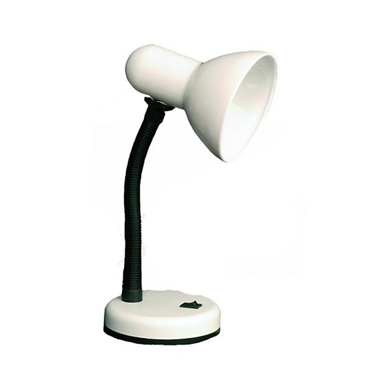 blanco escritoriocon Lámpara casquillo escritoriocon E27color Lámpara iXZukOPwT