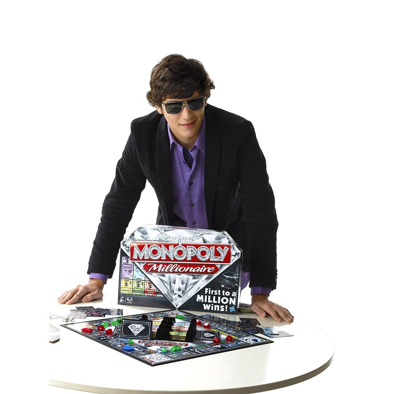 Monopoly Millonario Juego Familiar Brico Reyes