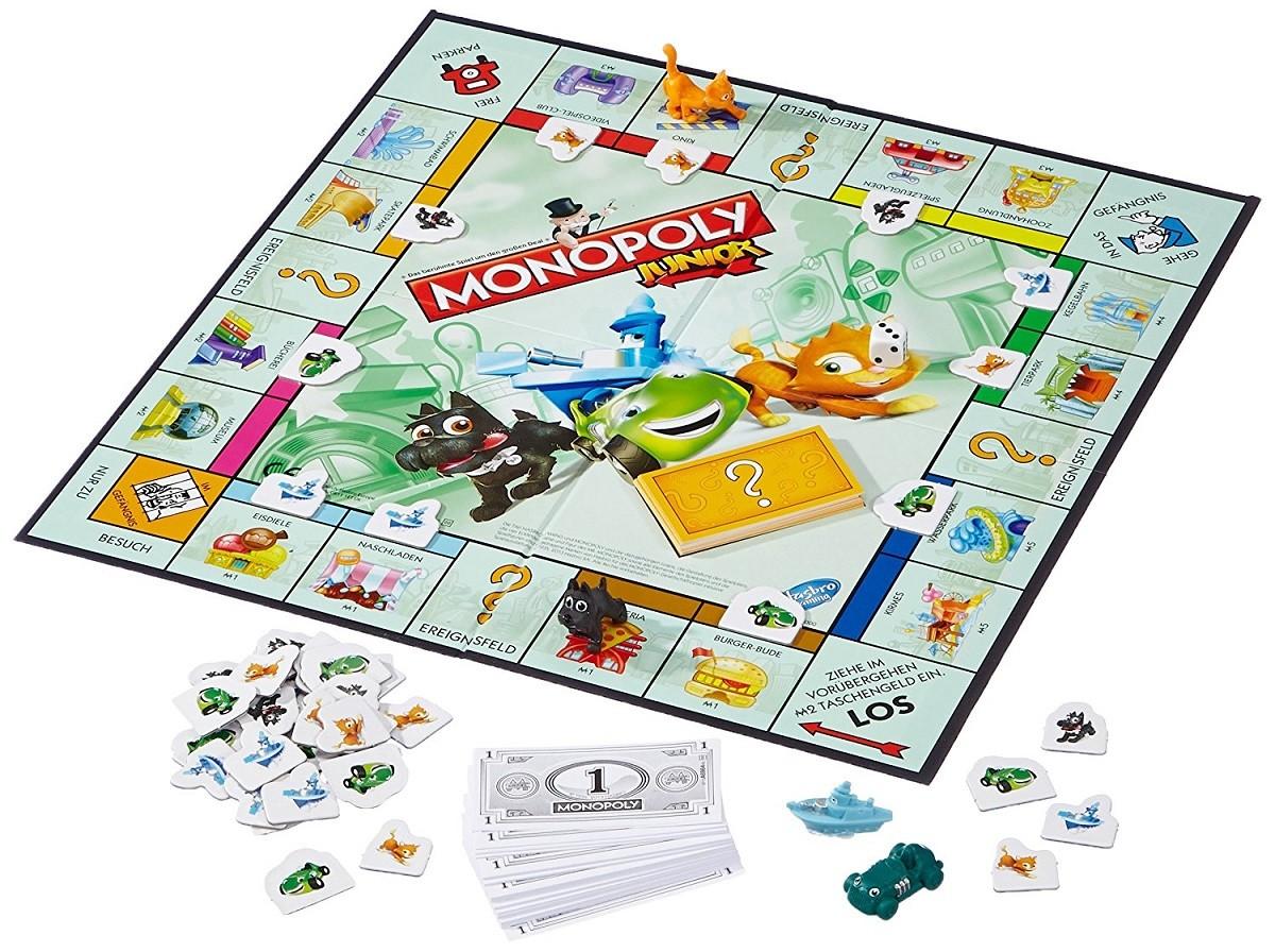 Monopoly Junior Juego De Mesa Brico Reyes