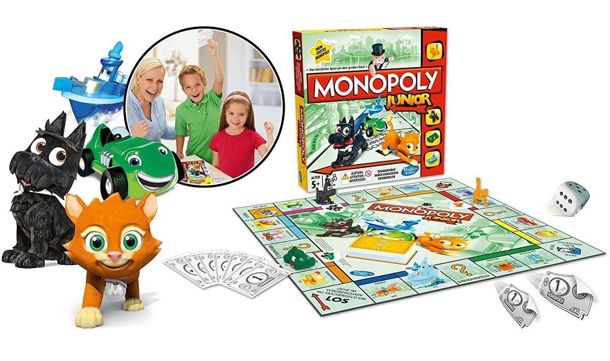 Monopoly Junior Juego De Mesa