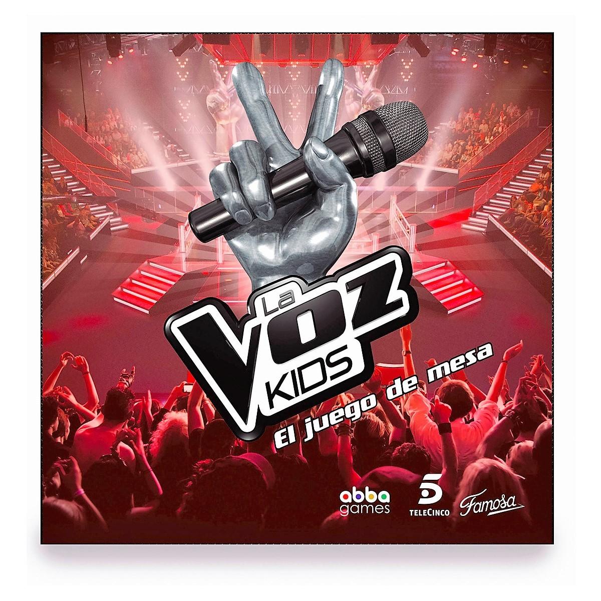 Juego De Mesa La Voz Kids De 2 A 6 Jugadores Brico Reyes